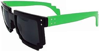 df57c03170 Geek Invader Pixel Lunettes - 8-Bit Noir-Vert