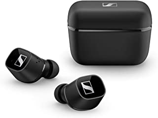 Sennheiser ゼンハイザー Bluetooth 完全ワイヤレスイヤホン CX 400BT True Wireless BLACK, ドイツ本社開発7mmドライバー、LDSアンテナ、Bluetooth 5.1、aptX、AAC、バッテリー...