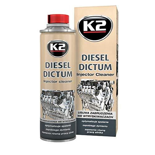 Sauf la fumée. Déclaration K2 500ml pour systèmes diesel