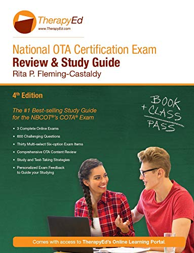 Compare Textbook Prices for National OTA Certification Exam Review and Study Guide  ISBN 9781733847728 by Rita P. Fleming-Castaldy, PhD, OTL, FAOTA