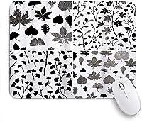 PATINISAマウスパッド イチョウのBilobaオークリンデン栗の葉 ゲーミング オフィス最適 高級感 おしゃれ 防水 耐久性が良い 滑り止めゴム底 ゲーミングなど適用 マウス 用ノートブックコンピュータマウスマット