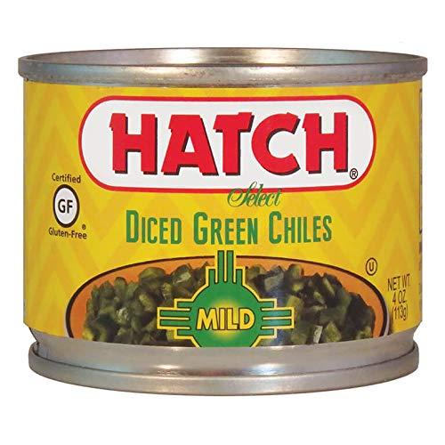 Hatch Mild Diced Green Chilis 12pk/4oz