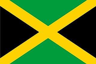 DIPLOMAT-FLAGS Jamaica Bandera | Bandera Paisaje | 0.06m² | 20x30cm Banderas de Coche