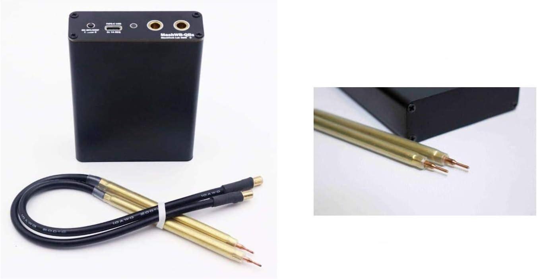 XTD Upgrade-DIY 18650 Spot-Welder- mit 10m Nickel Sheet Tragbare Mini-Punktschwei/ßmaschine Welding Pen Kit Einstellbarer 5 Gears Mit A-Ladekabel A