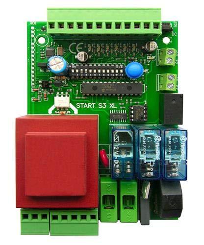 Universal de control de activación platina para puerta corredera o kipptor, compatible con todas las marcas como Came, FAAC, FADINI, Beninca, 230 V: Amazon.es: Bricolaje y herramientas