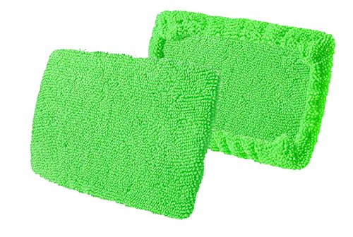 Craft-Equip 2 Stück Microfaser-Pads für Windschutzscheiben-Wunder Ersatz-Pads