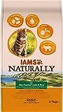 IAMS Naturally - Comida seca para gatos adultos con cordero y arroz de Nueva Zelanda, 2,7 kg