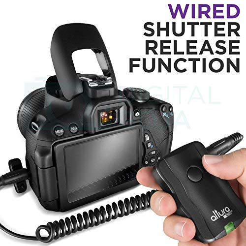 Altura Photo Professional Flash Kit for Canon DSLR with E-TTL Flash AP-C1001, Wireless Flash Trigger Set and Accessories