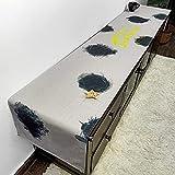 Squisito runner da tavolo Camino de mesa hecha a mano abstracta artístico Primeros decoración comedor Tablerunners mesa de despacho de casa TV bandera de mesa moderna minimalista nórdico per feste, ri