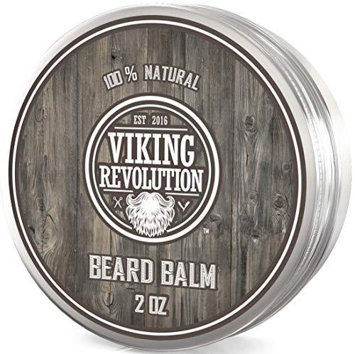 Viking Revolution Beard Balm for Men - Strengthens & Softens