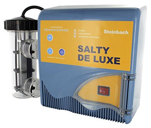 Steinbach Salty de Luxe P4 Profi Salzwassersystem, bis 50 m³ Wasserinhalt, 018250