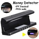 Rilevatore di banconote false, controlla l'autenticità delle banconote con lampada UV...