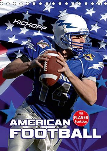 American Football - Kickoff (Tischkalender 2021 DIN A5 hoch)