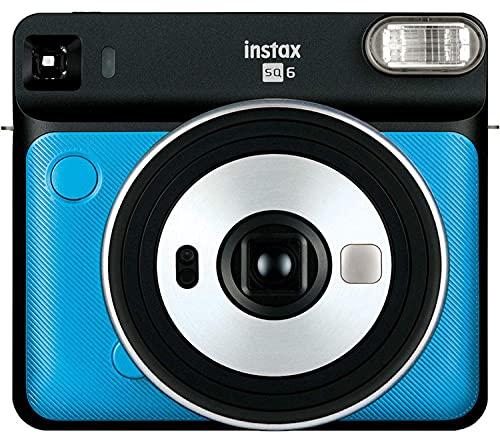 Fujifilm Instax Square SQ6 - Instant Film Camera - Metallic Blue