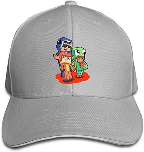 XTTGGD Gorras de béisbol Unisex Gorra con Visera Ajustable Sombrero Tipo sándwich (-H603)