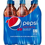 Pepsi, Wild Cherry, 16.9 Fl Oz (pack of 6)