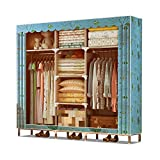 Closet Storage Closet Clothes Portable Ropa portátil Armarios Armario Armario Organizador Estante Ropa de Vestuario Ropa de pie Armario Armario Closet Wardrobe Closet Organizer Shelf Wardrobe