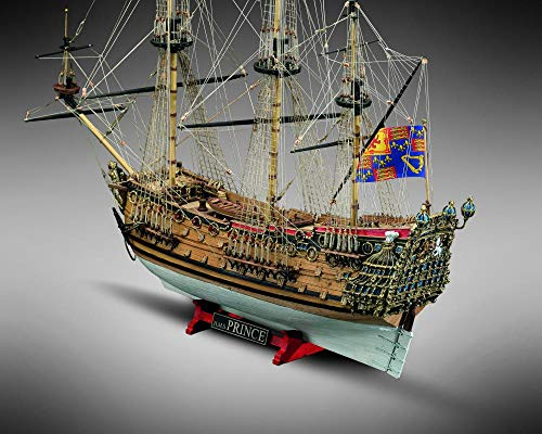 Mamoli MV80 HMS Prince 100 Gun First Rate Ship Scale: 1/144