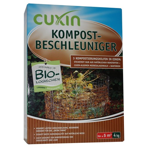 Cuxin Kompost-Beschleuniger Granulat, 4 kg