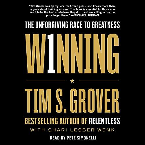 Winning Audiobook By Tim S. Grover, Shari Wenk cover art