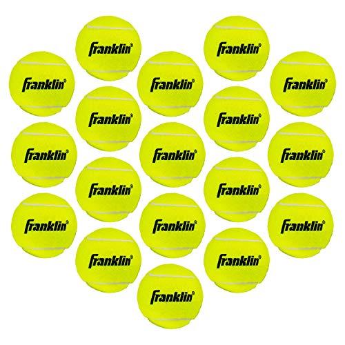 Franklin Sports 18 Pack Pressureless Practice Tennis Balls