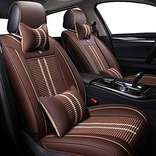 Xljh ijs zijde auto stoelhoezen set voor Dodge alle modellen Avenger Charger RAM Dart auto styling auto-accessoires auto Kussen