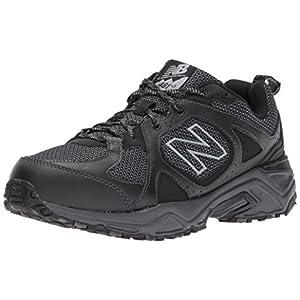 New Balance Men's 481 V3 Trail Running Shoe, Black/Magnet, 11 M US