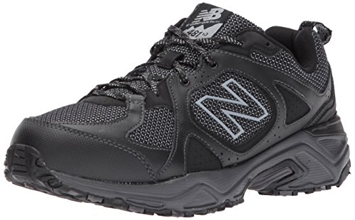 New Balance Men's 481 V3 Trail Running Shoe, Black/Magnet, 7 M US