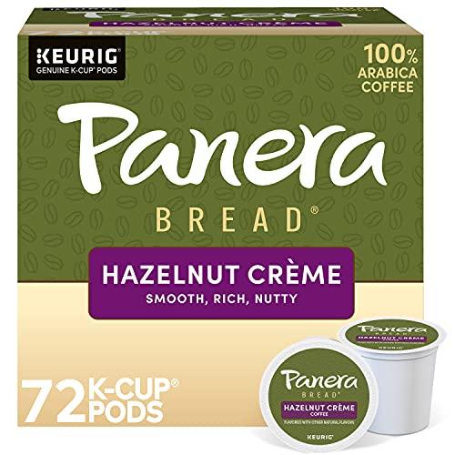 Panera Bread Hazelnut Crème, Single Serve Coffee K-Cup Pod, Flavored Coffee, 72 Count
