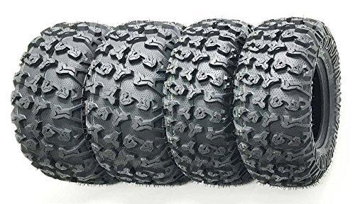et of 4 Premium FREE COUNTRY ATV/UTV Tires 25x8-12 Front & 25x10-12 Rear / 8PR w/Side Scuff Guard …