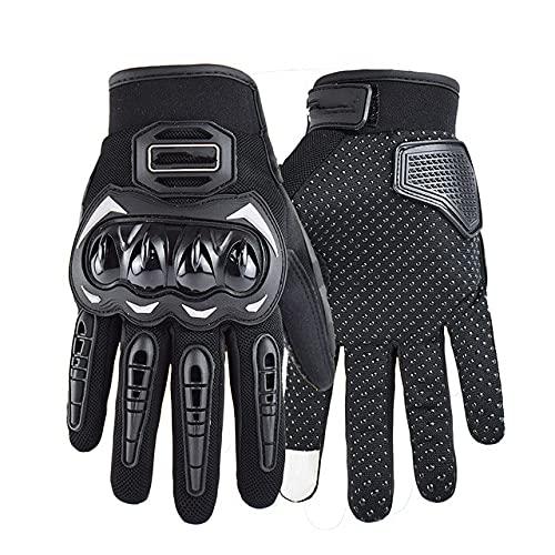 A prueba de golpes de verano de malla transpirable motocicleta Racing guantes pantalla táctil off-road motocicleta montar guantes