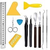 DAIRF DIY Handwerk Handwerk Set Handwerk, Kontur Zubehör Set und Handwerk Haken, Pinzette, Lineal, Edelstahl Plotter Zubehör