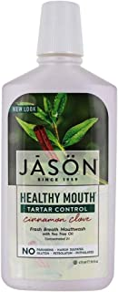 Jason Healthy Mouth Tartar Control Mouthwash, Cinnamon Clove, 16 Oz
