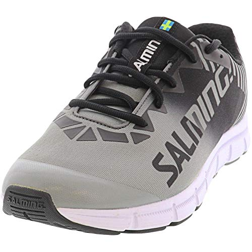 Salming Women Miles Lite Neutral Running Shoe Running Shoes Grey - Black 7