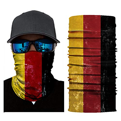 Best Review Of DianDianwl National Flag Magic Scarf Neck Warmer Bandanas Men Cycling Motorcycle Bala...