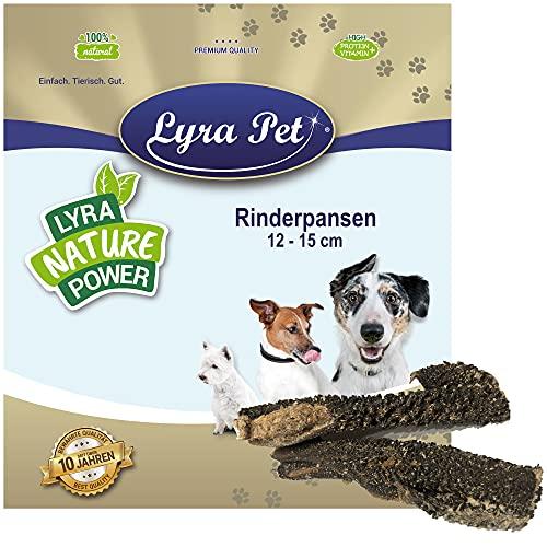 Lyra Pet® 5 kg Rinderpansen getrocknet 5000 g wie Blättermagen Hundefutter
