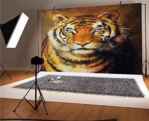 Tiger - Fondo de vinilo para fotografía de 15 x 10 pies,...