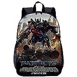 KKASD Póster de Transformers mochila impresa en 3D Mochila escolar Mochila de ocio Mochila escolar...