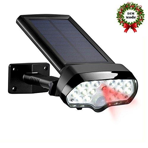 Luci Solari,Vandeng 17LED Impermeabile Wireless Faretti Solari con Sensore di Movimento per Patio Garden Porch Driveway Garage Lawn