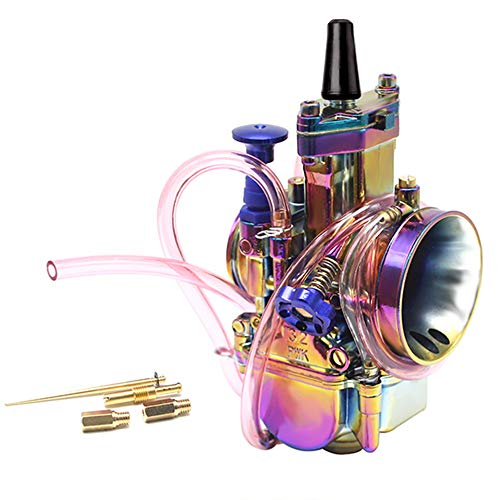 Carburetor Motorcycle Colorful Rainbow 2T 4T Universal Refitting Parts Racing for 50 100 150 200 250cc DirtBike,34mm