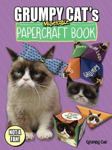 Grumpy Cat's Miserable Papercraft Book (Dover Fun and Games for Children)