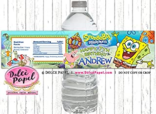 coco water bottle labels