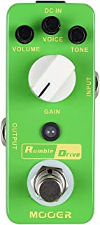 Best mooer rumble drive overdrive Reviews