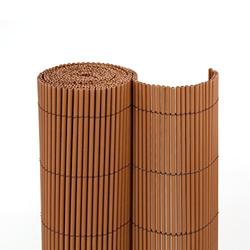 jarolift Sichtschutzmatte ECO Wicker 100 x 300cm, braun