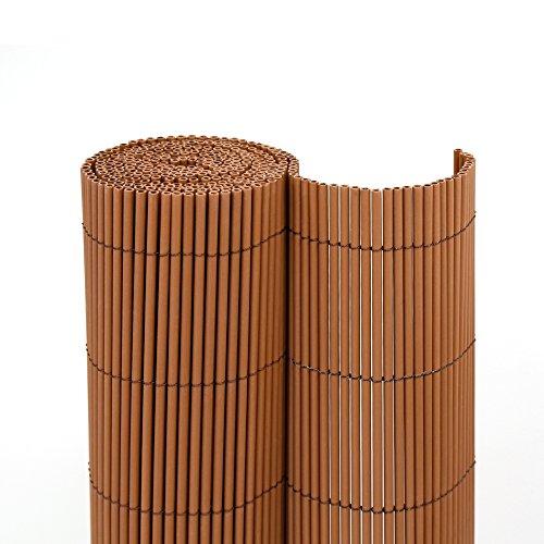 jarolift Sichtschutzmatte ECO Wicker 180 x 300cm, braun