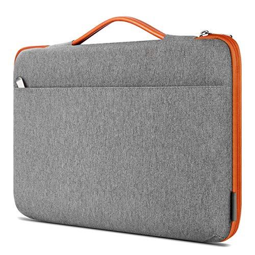 Inateck 14 Zoll Stoßfestes Laptop Tasche Hülle Wasserdicht Notebook Sleeve Hülle Schutzhülle Kompatibel 15 Zoll MacBook Pro 2016-2019,14