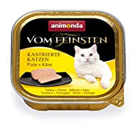 Delicious: With their fine consistency, these pâtés are perfect for a discerning palate. To make sure they don't get bored, this cat food comes in a range of flavours. Natural: This wet food of course contains no flavour enhancers, grains (gluten), s...