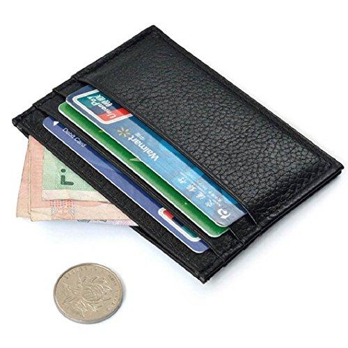 Malloom Porta Carte Di Credito Sottile Mini Id Portafoglio Borsa Caso Borsa Borsetta
