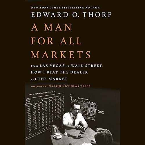 A Man for All Markets audiobook cover art