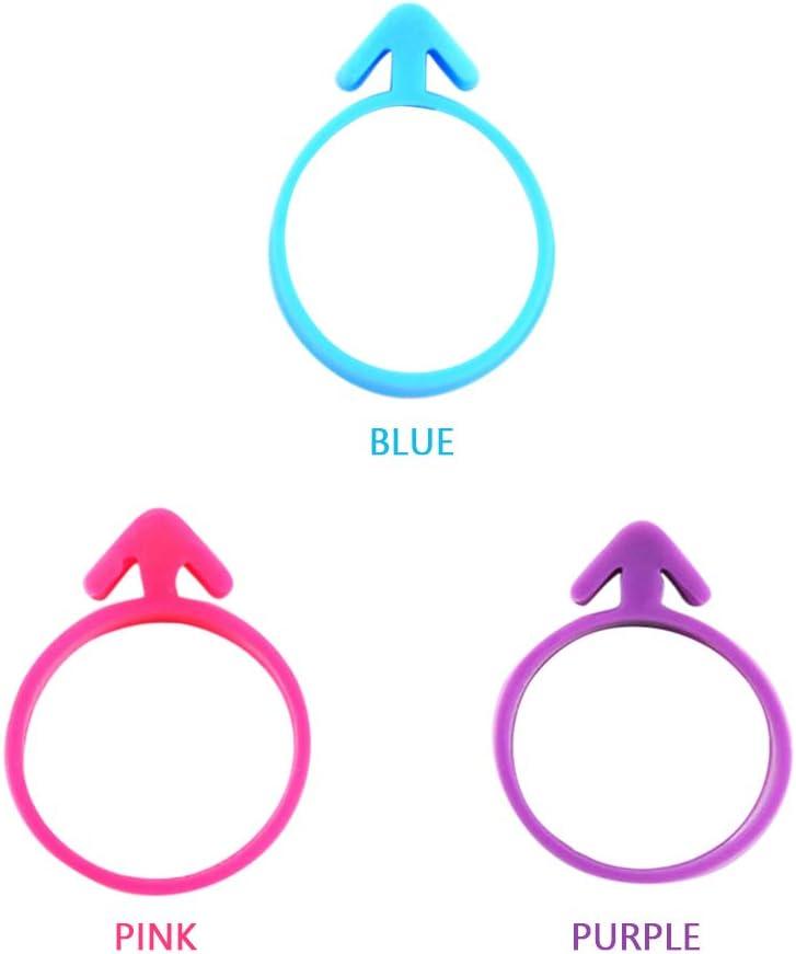 10 pi/èces Sac de gla/çage Cravates Fournitures de Cuisson Accessoires Silicone d/écoration Sac Cravates p/âtisserie g/âteau d/écoration Fournitures